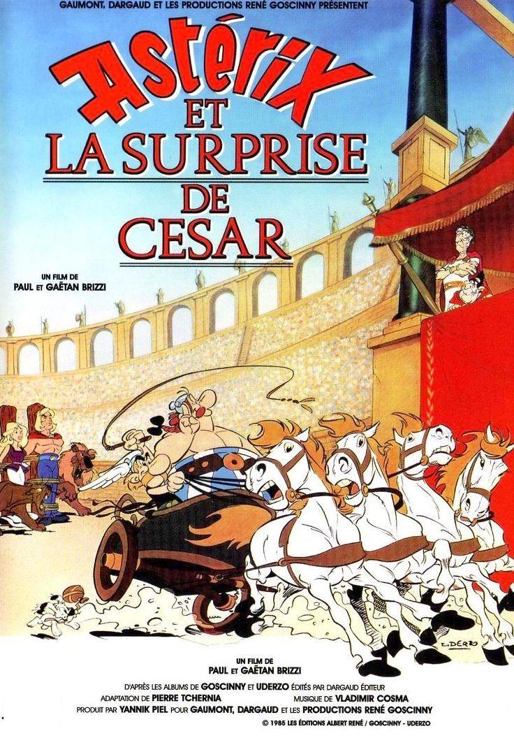 affiche du film Astérix et la surprise de César