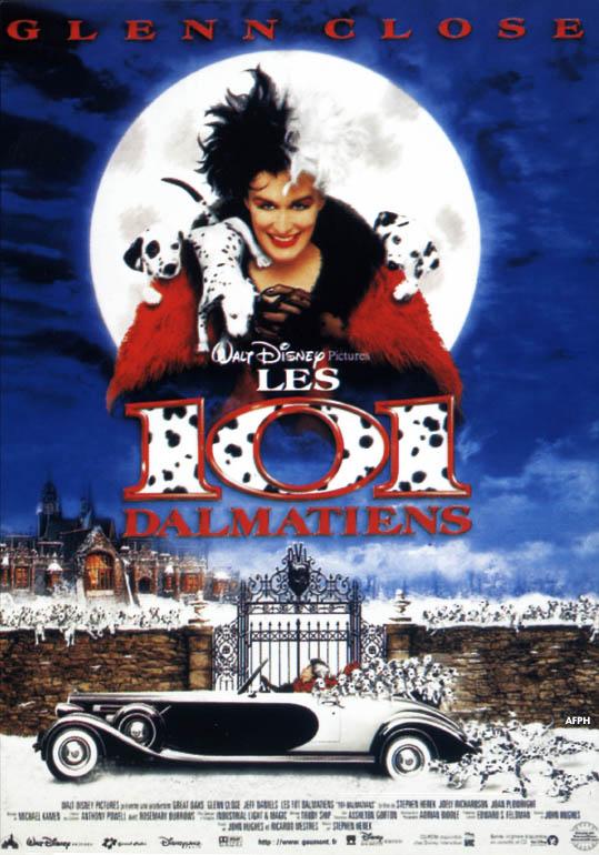 affiche du film Les 101 dalmatiens (1996)