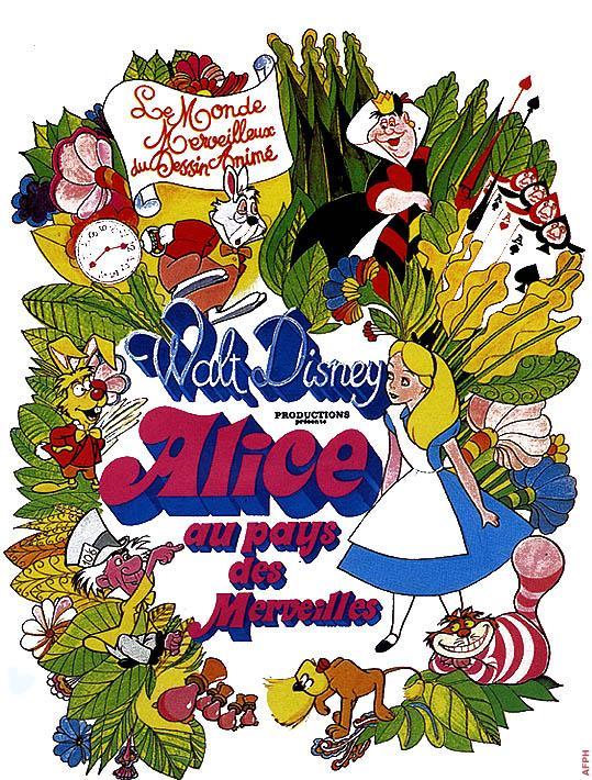 affiche du film Alice au pays des merveilles (1951)
