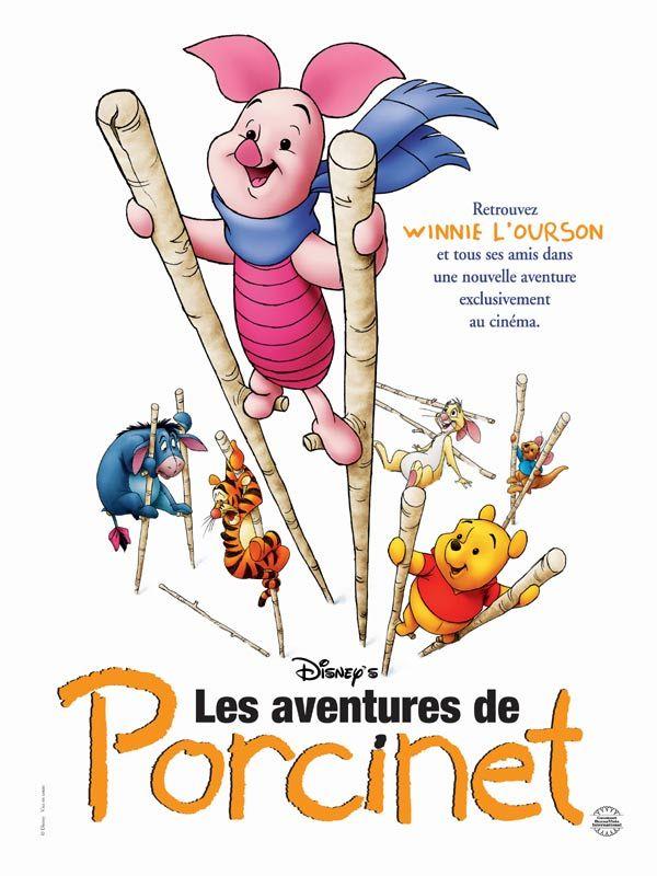 affiche du film Les aventures de Porcinet