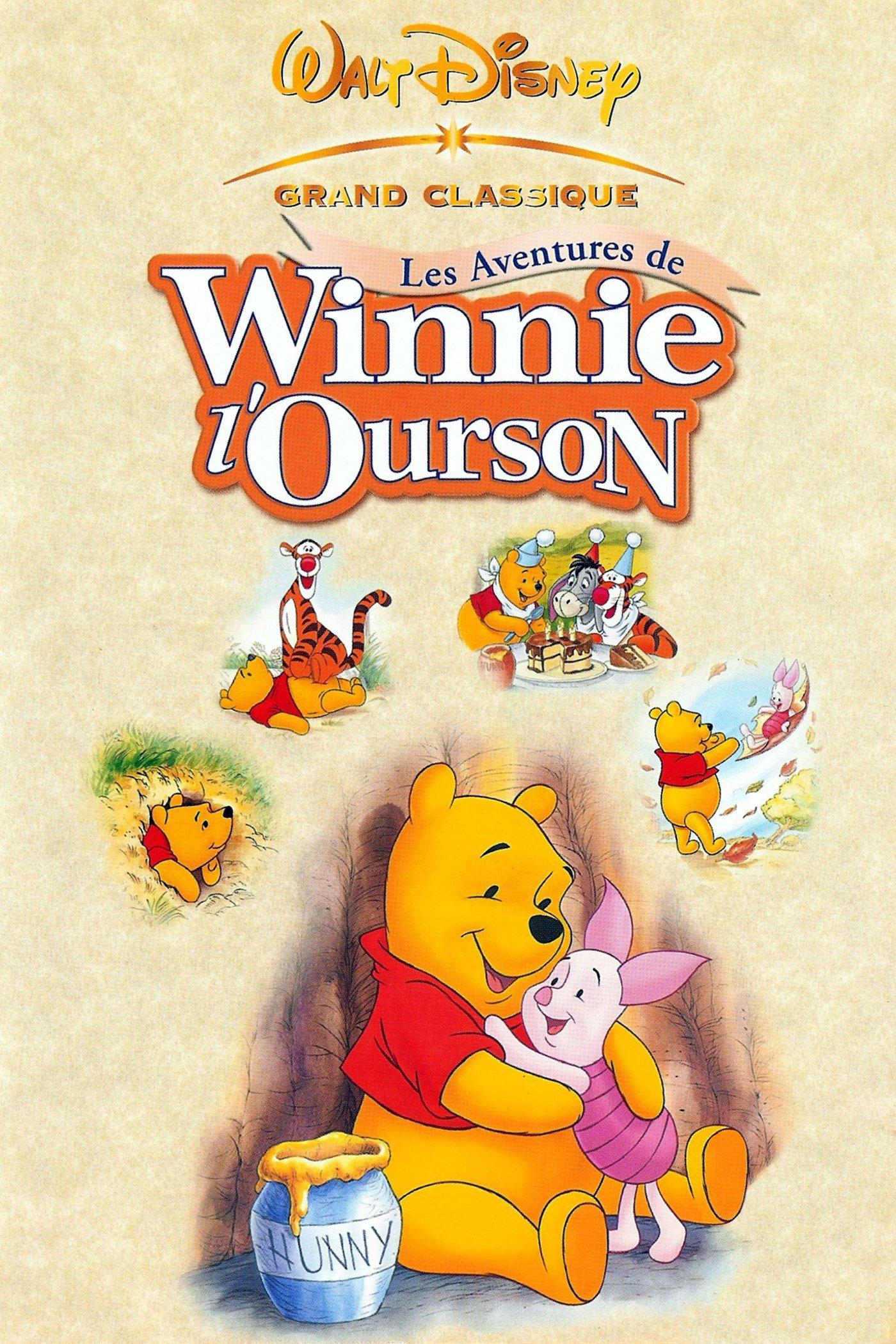 affiche du film Les aventures de Winnie l'ourson