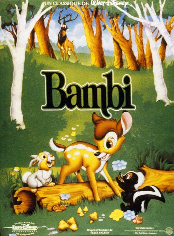 affiche du film Bambi (1942)
