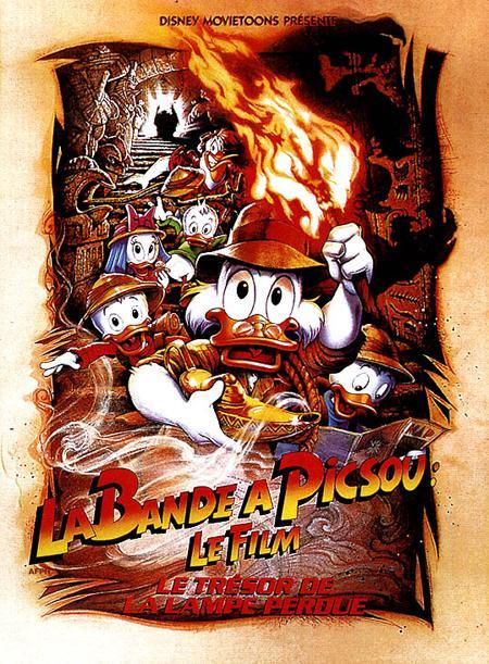 affiche du film La bande à Picsou : Le trésor de la lampe perdue
