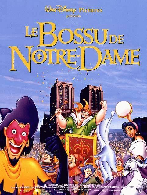 affiche du film Le bossu de Notre-Dame