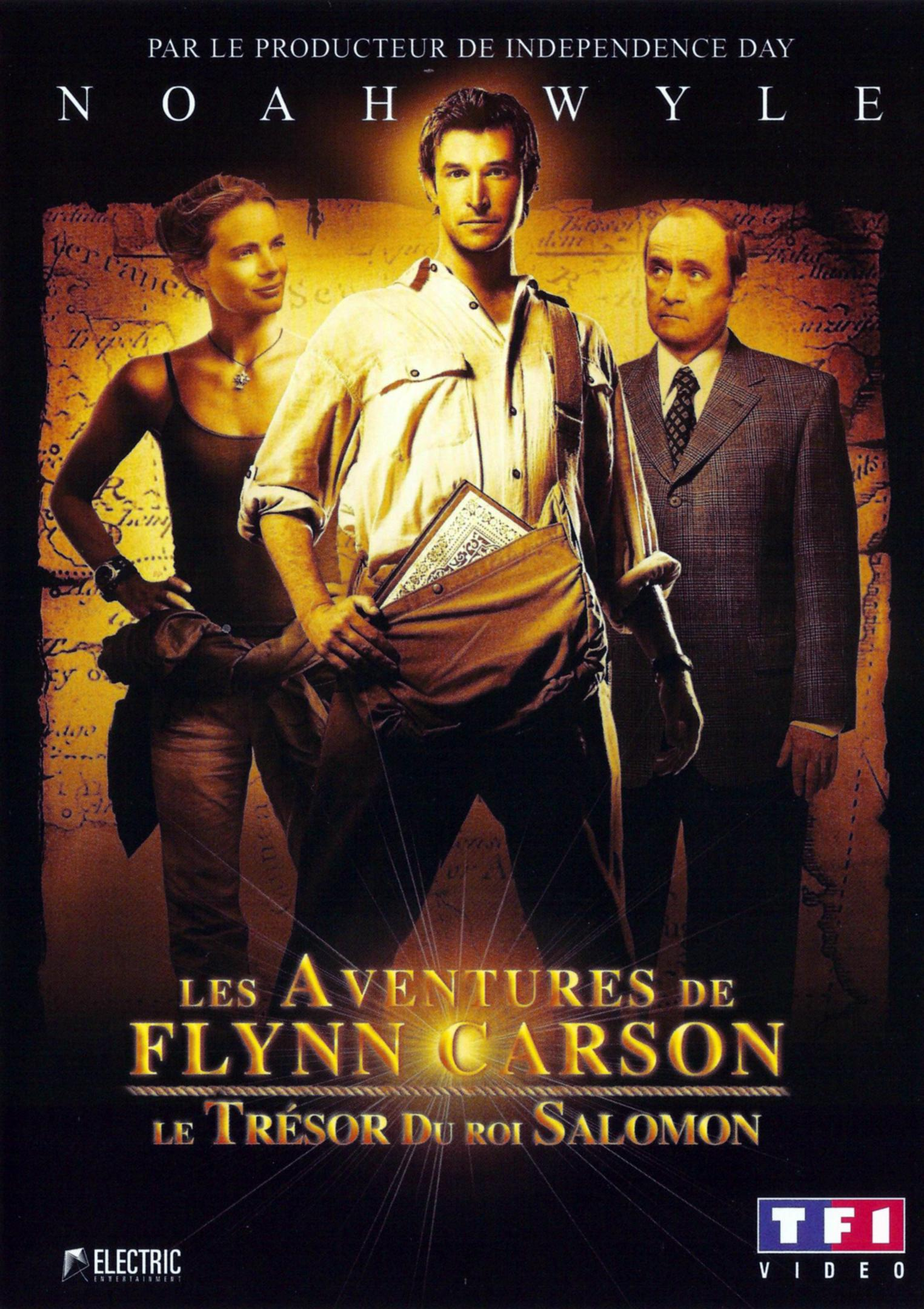 affiche du film Les aventures de Flynn Carson : Le trésor du roi Salomon (TV)