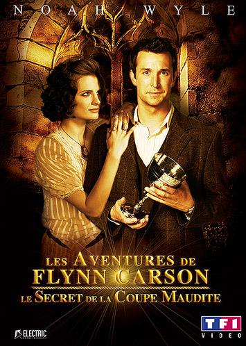 affiche du film Les aventures de Flynn Carson : Le secret de la coupe maudite (TV)