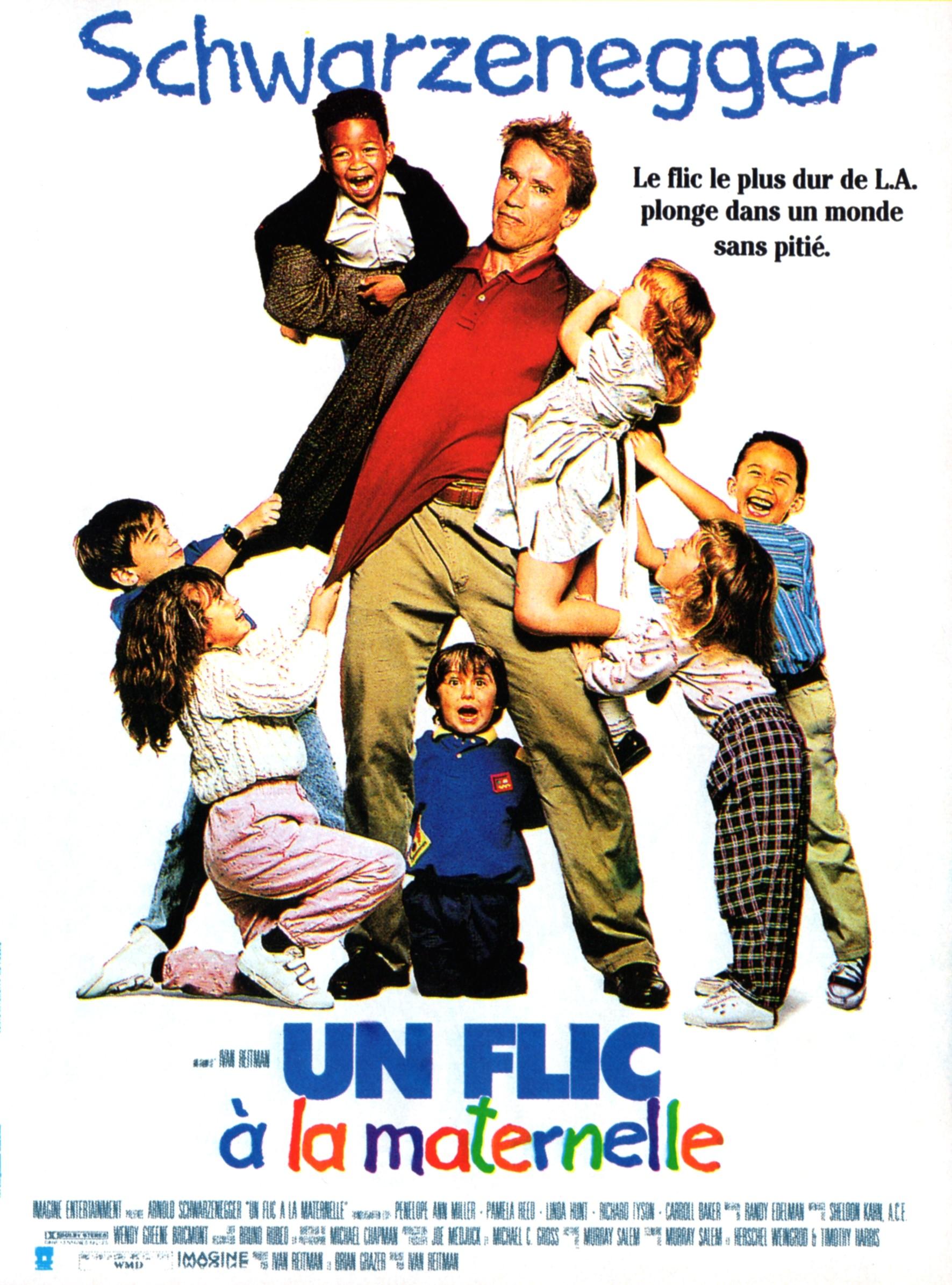 affiche du film Un flic à la maternelle
