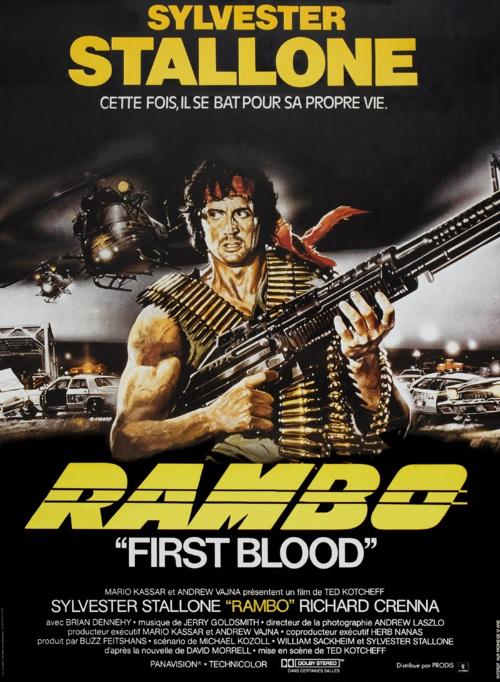 affiche du film Rambo