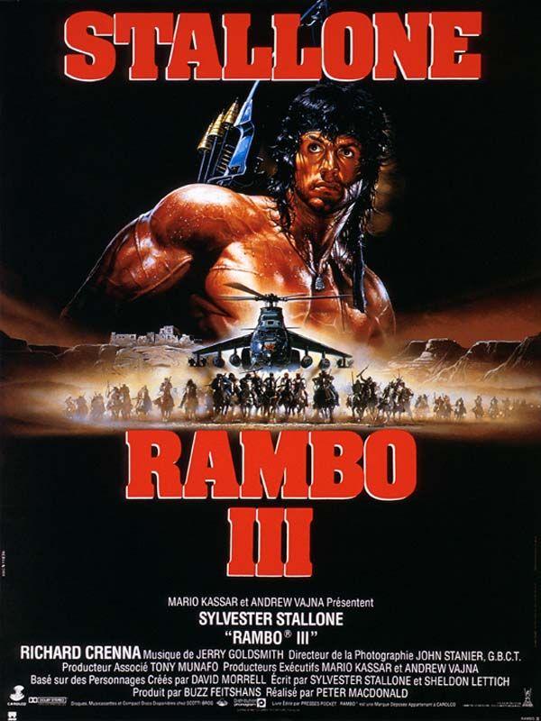 affiche du film Rambo III