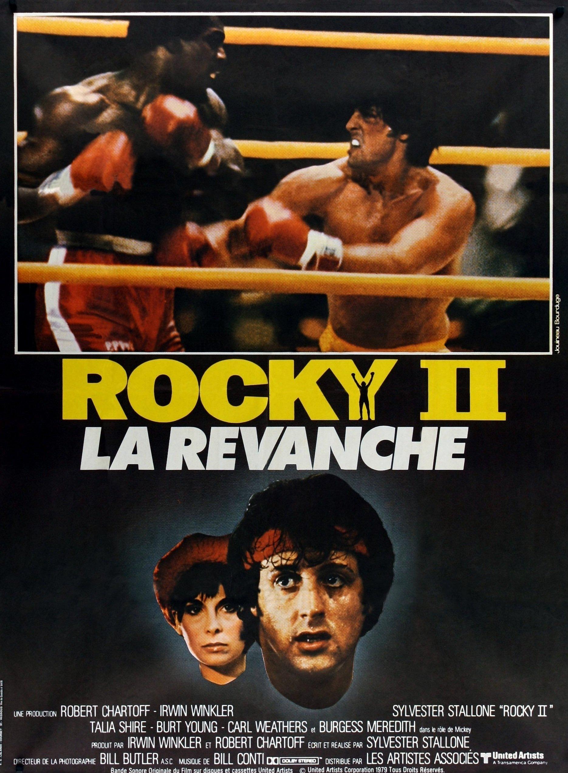 affiche du film Rocky II