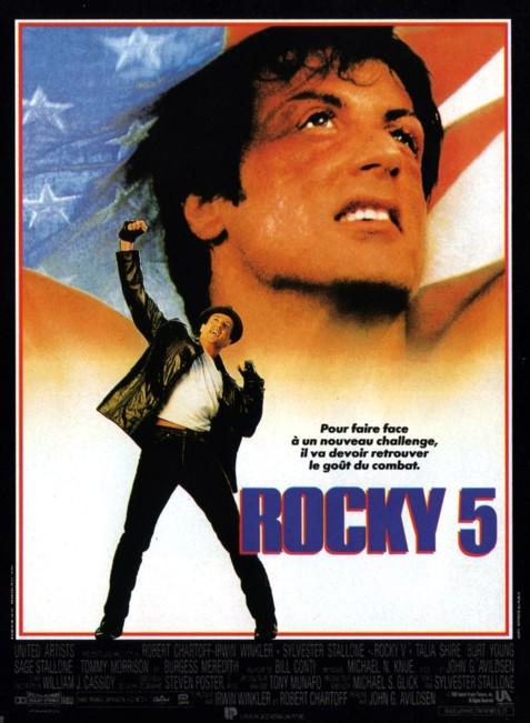 affiche du film Rocky V