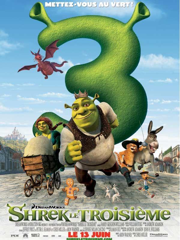 affiche du film Shrek 3