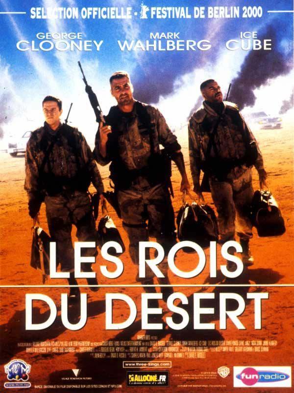 affiche du film Les rois du désert