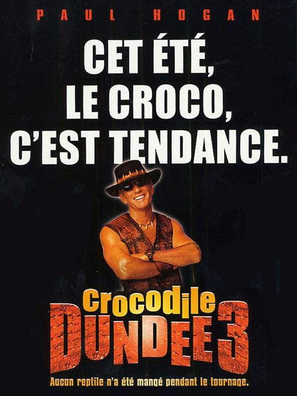 affiche du film Crocodile Dundee III
