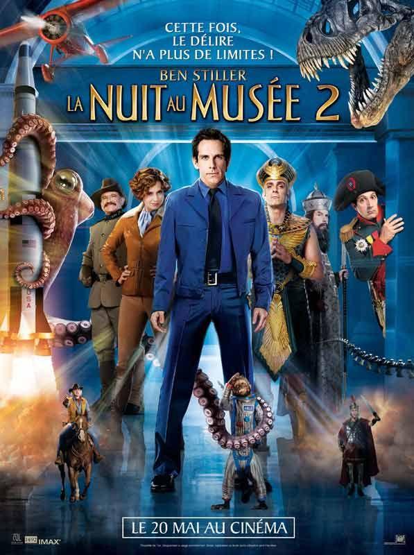 affiche du film La Nuit au musée 2