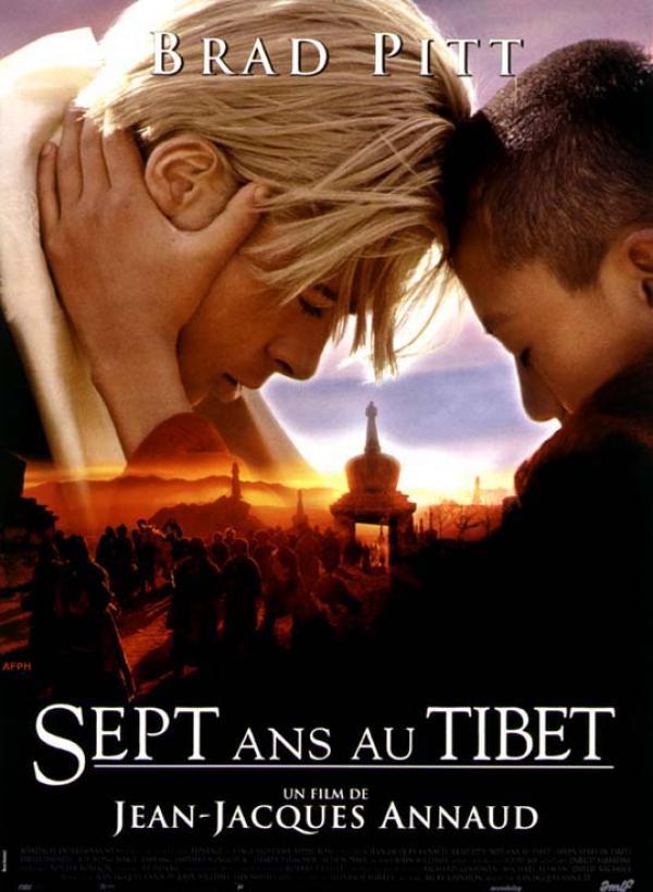 affiche du film Sept ans au Tibet