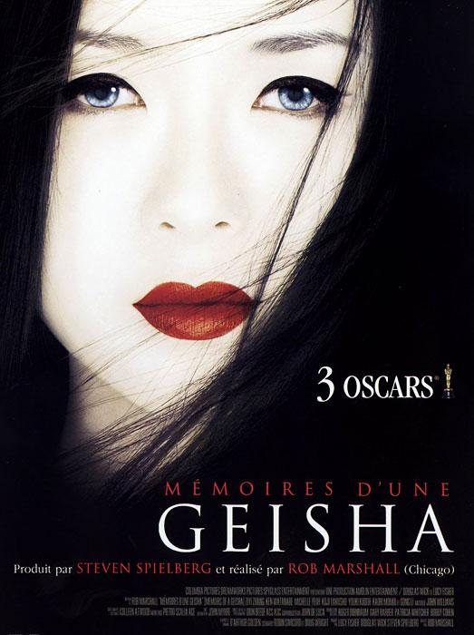 affiche du film Mémoires d'une geisha