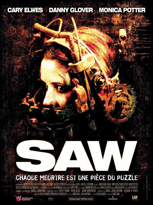 affiche du film Saw