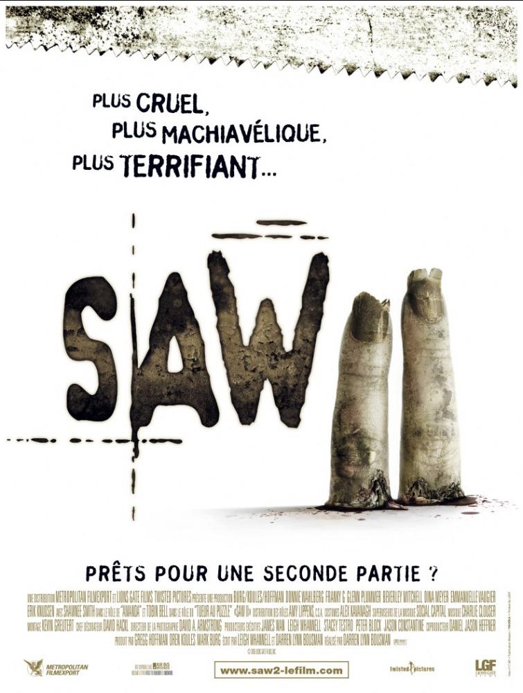 affiche du film Saw II