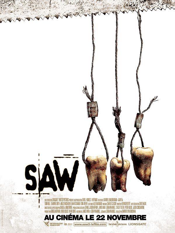affiche du film Saw III