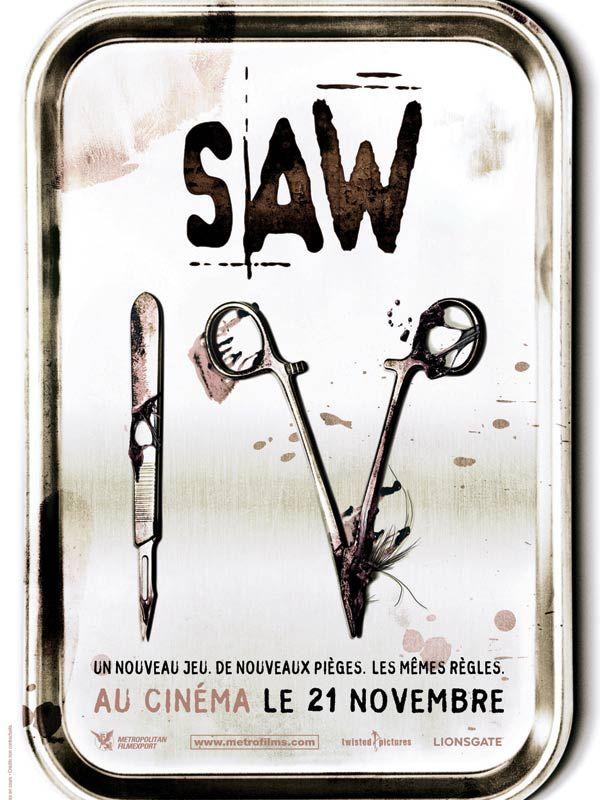 affiche du film Saw IV