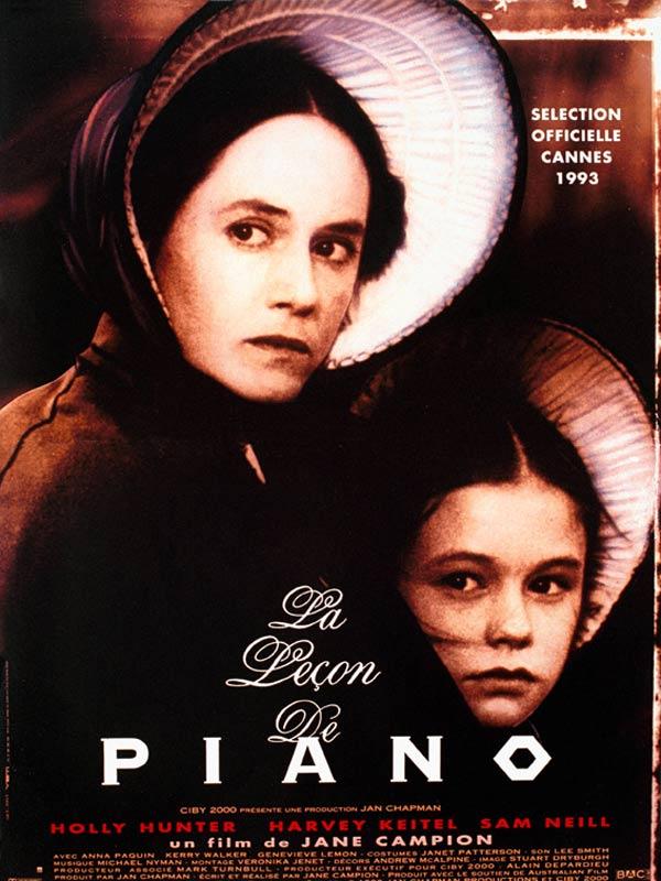 affiche du film La leçon de piano