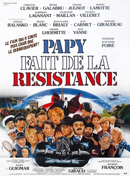 affiche du film Papy fait de la résistance