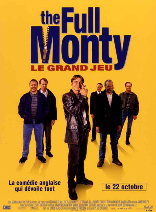 affiche du film The Full Monty : Le Grand Jeu