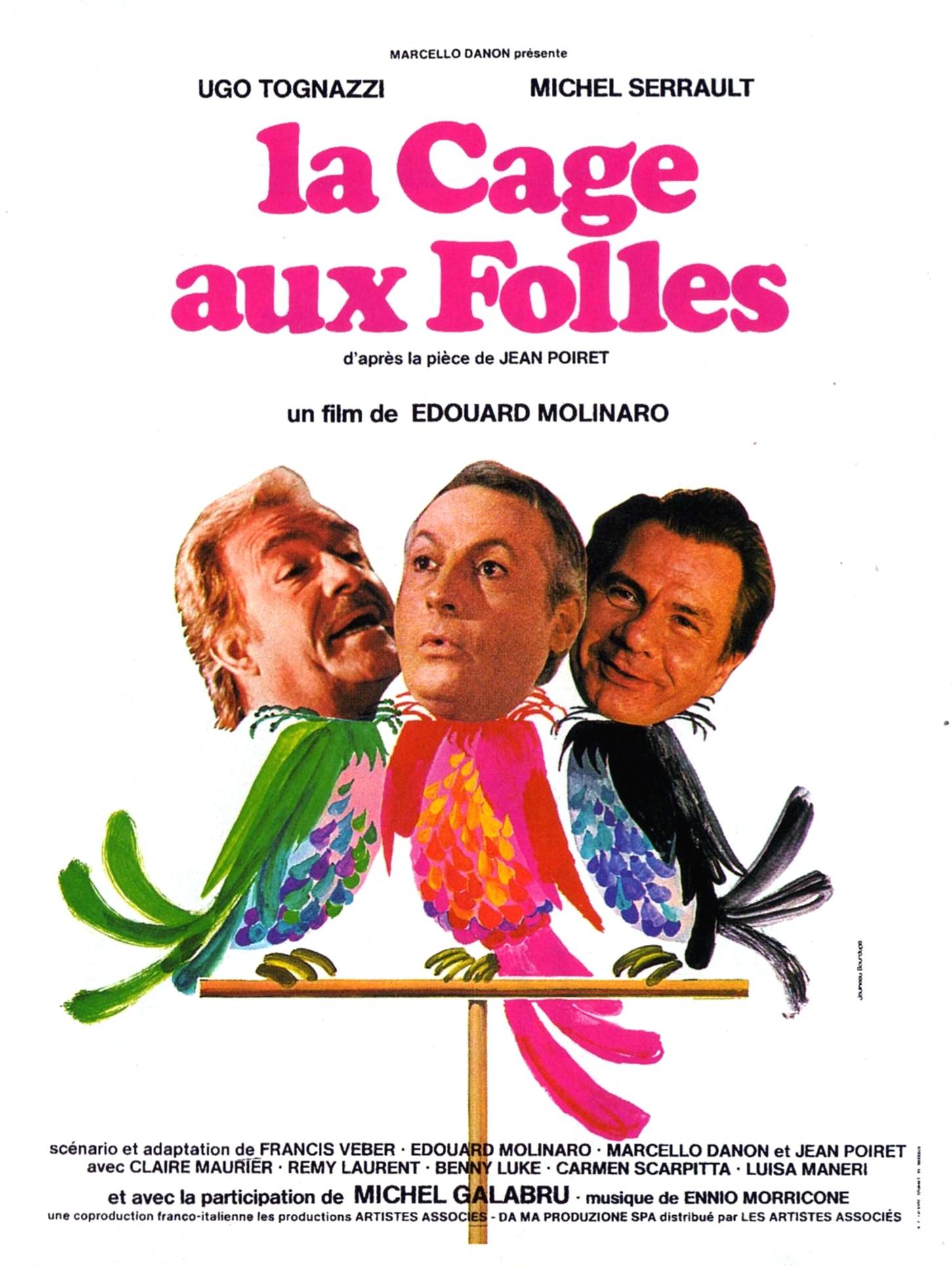 affiche du film La cage aux folles