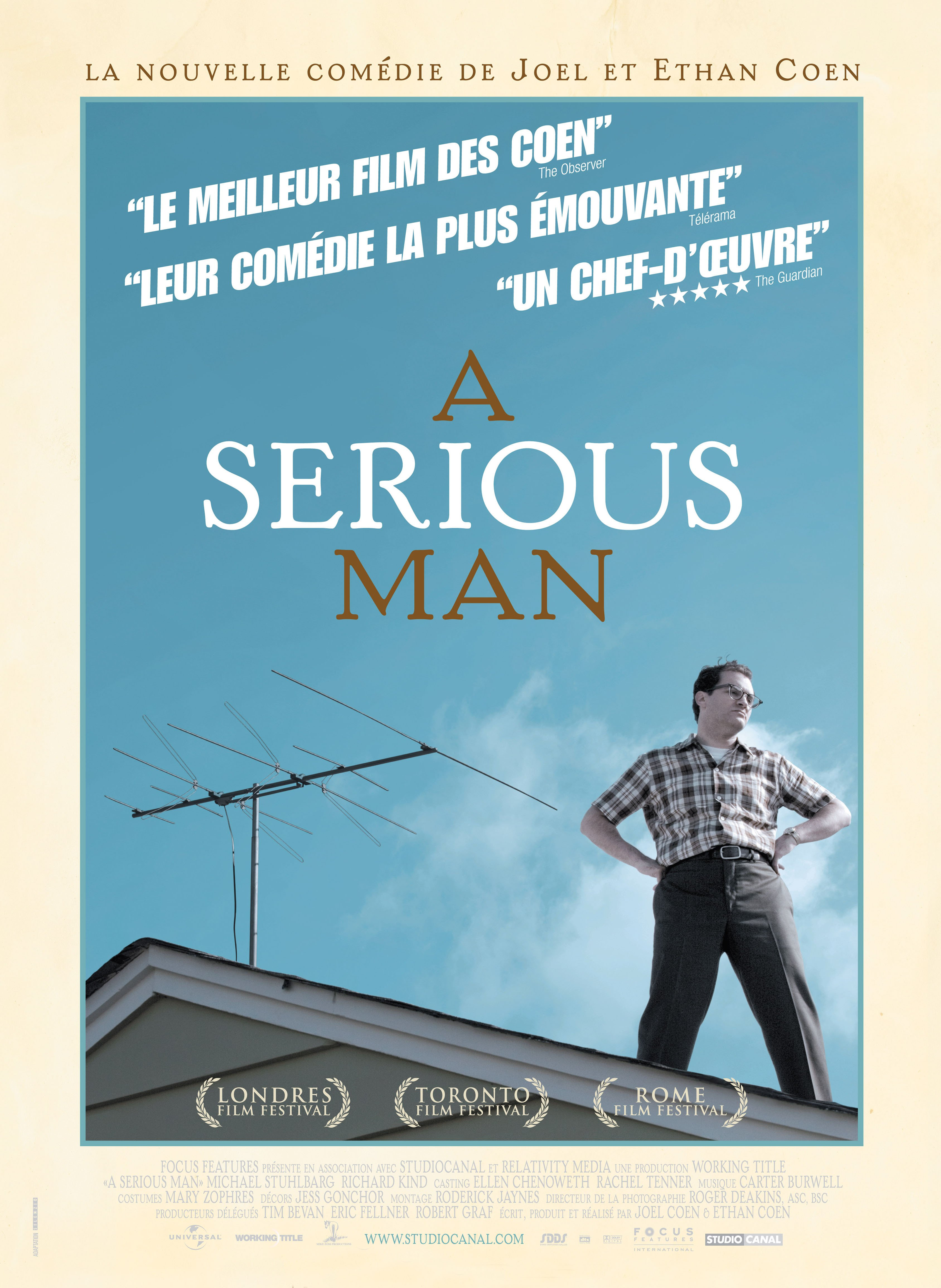 affiche du film A Serious Man
