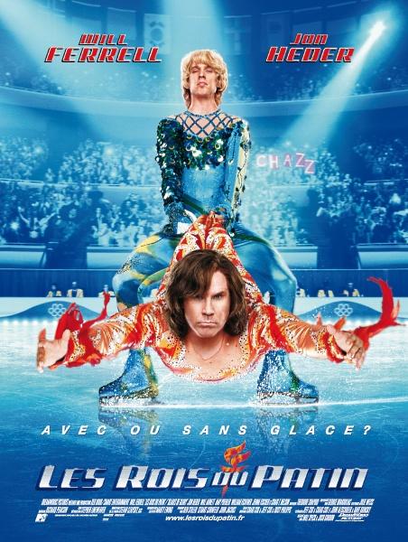 affiche du film Les rois du patin