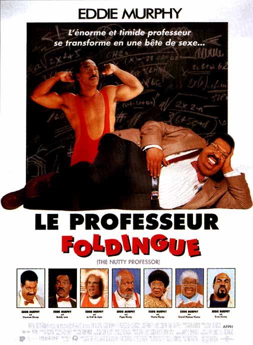 affiche du film Le professeur foldingue