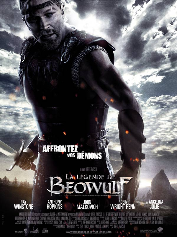 affiche du film La légende de Beowulf