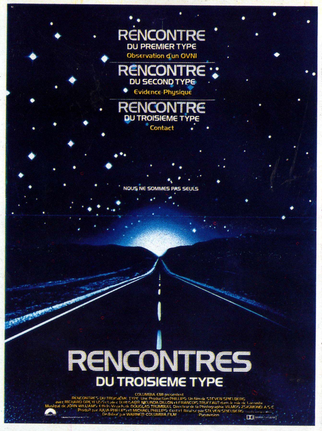 affiche du film Rencontres du troisième type