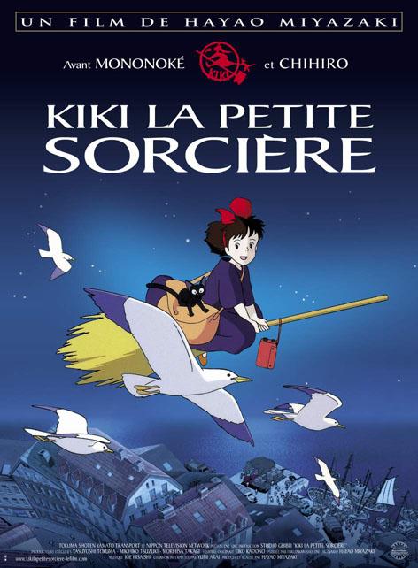 affiche du film Kiki, la petite sorcière