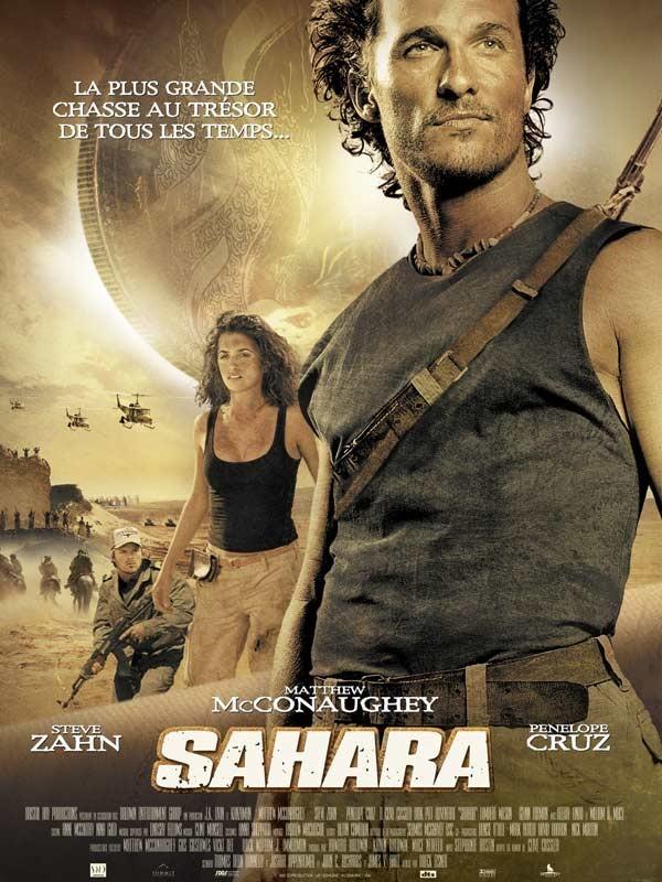affiche du film Sahara (2005)