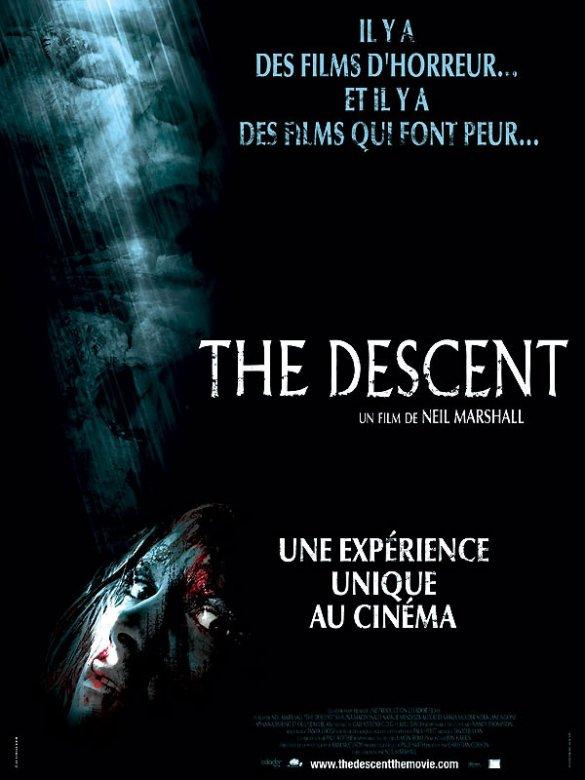 affiche du film The Descent