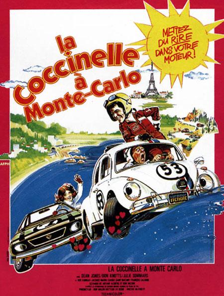 affiche du film La coccinelle à Monte-Carlo