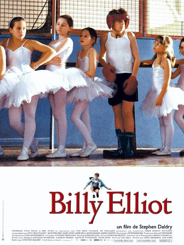 affiche du film Billy Elliot