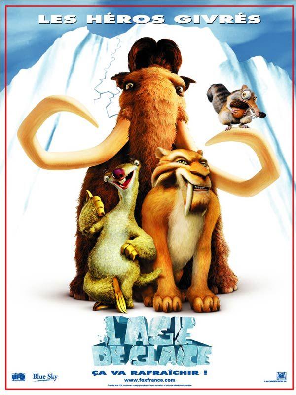 affiche du film L'âge de glace