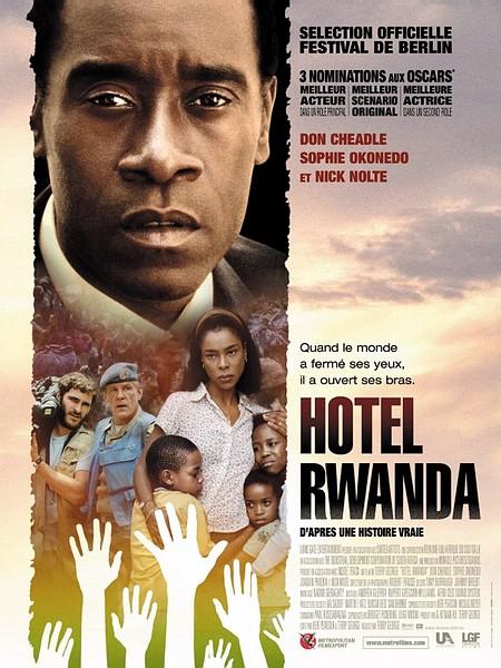 affiche du film Hôtel Rwanda