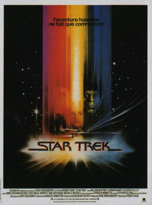 affiche du film Star Trek, le film