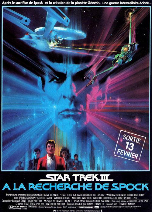 affiche du film Star Trek III : À la recherche de Spock