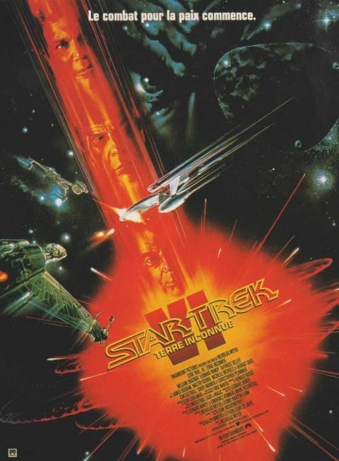 affiche du film Star Trek VI : Terre inconnue