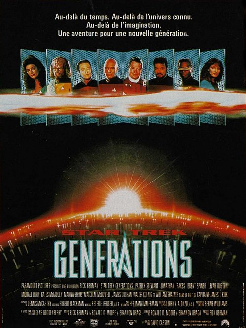 affiche du film Star Trek : Générations