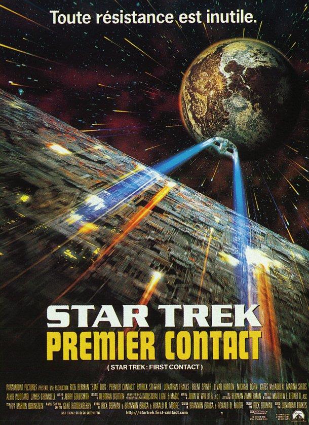 affiche du film Star Trek : Premier Contact
