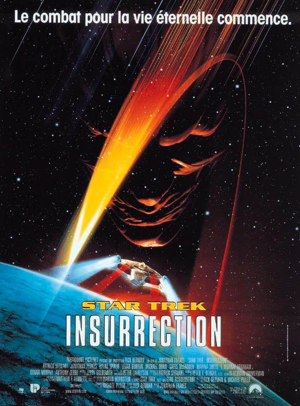 affiche du film Star Trek: Insurrection