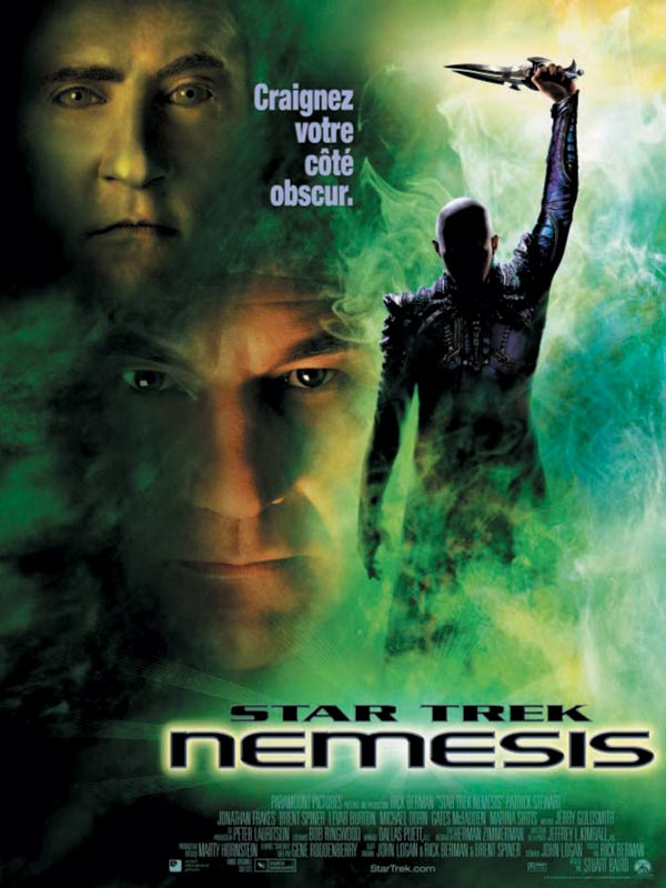 affiche du film Star Trek: Nemesis