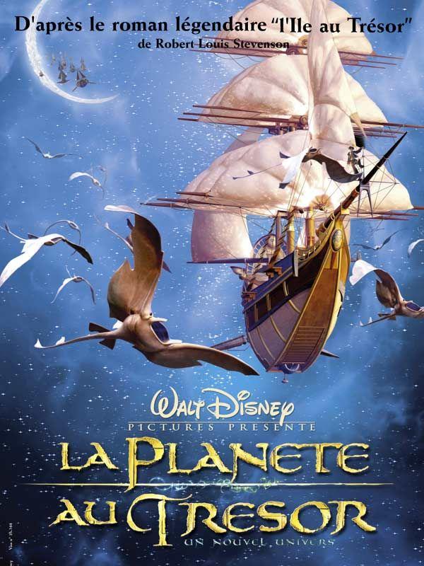 affiche du film La planète au trésor