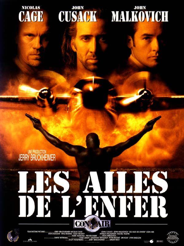 affiche du film Les ailes de l'enfer